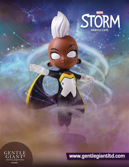 MARVEL ANIMATED STYLE STORM STATUE (Net) (C: 0-1-2)