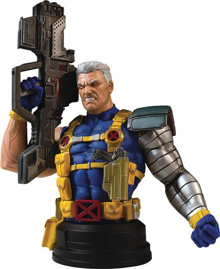 MARVEL CABLE MINI BUST (Net) (C: 1-1-2)