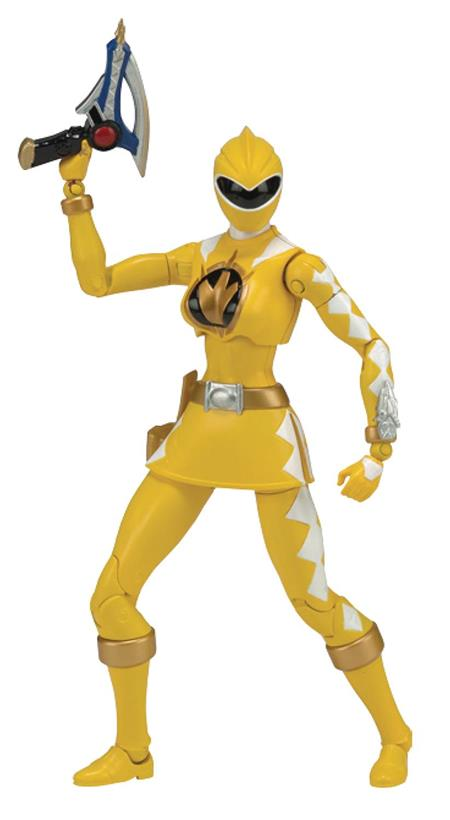 POWER RANGERS LEGACY DINO THUNDER YELLOW RANGER 6IN AF CS (N