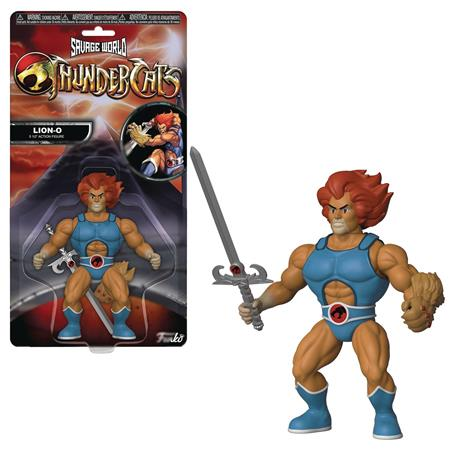 FUNKO SAVAGE WORLD THUNDERCATS LION-O AF (C: 1-1-2)