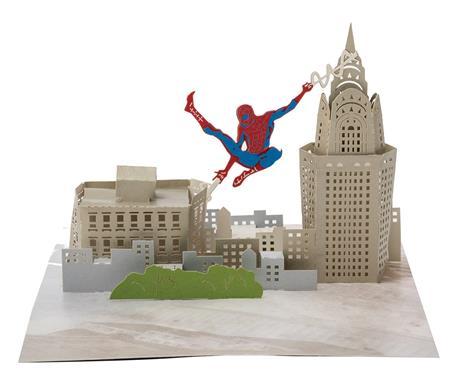 Spider Man Pop Up Card C 1 1 2 Discount Comic Book Service
