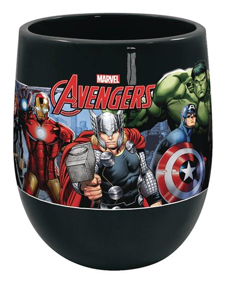 MARVEL AVENGERS ASSEMBLE 19OZ INVERTED HANDLE MUG (C: 1-1-2)