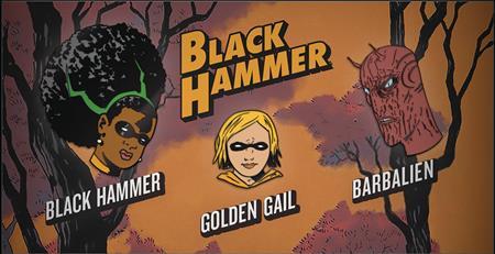 BLACK HAMMER SERIES I ENAMEL PIN SET (C: 1-1-2)