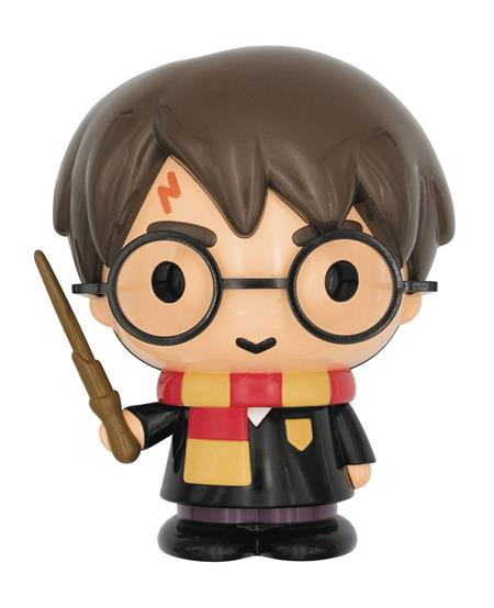 HARRY POTTER BUST 8.5 IN PVC BANK (C: 1-1-2)