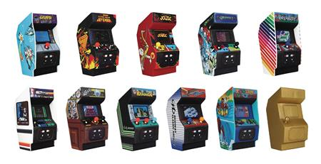 RETRO GAME MACHINE 3D FIGURAL KEYRING 24PC BMB DIS (C: 1-1-2