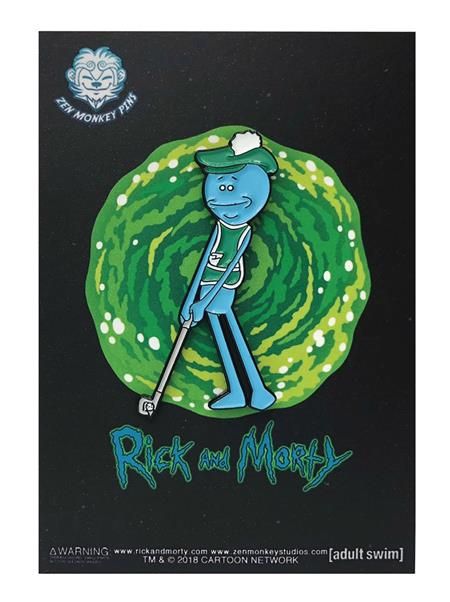 RICK AND MORTY GOLFING MEESEEKS PIN (C: 1-1-2)