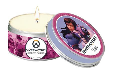 OVERWATCH SCENTED CANDLE DVA 5.6 OZ TIN (C: 1-1-2)