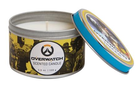 OVERWATCH SCENTED CANDLE TRACER 5.6 OZ TIN (C: 1-1-2)