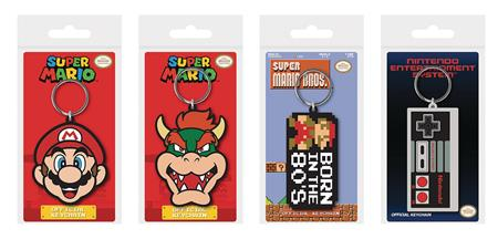 SUPER MARIO KEYCHAIN 48 PC DIS (C: 1-1-2)