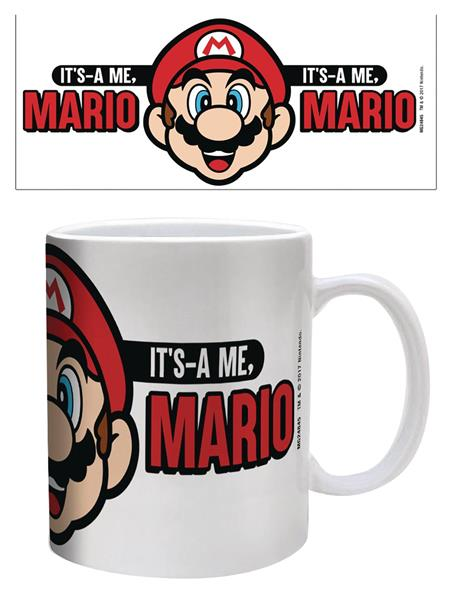 SUPER MARIO ITS A ME MARIO 11 OZ MUG (C: 1-1-2)