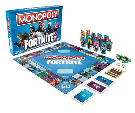 MONOPOLY FORTNITE EDITION GAME CS (Net) (C: 1-1-2)