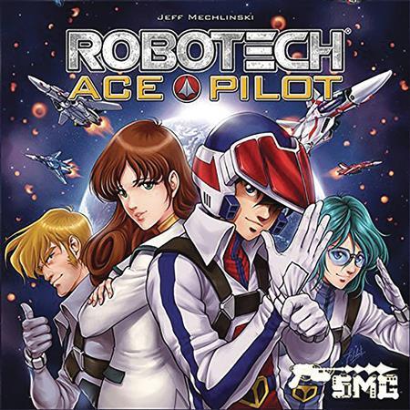 ROBOTECH ACE PILOT CARD GAME (C: 0-1-2)