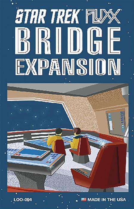 STAR TREK FLUXX BRIDGE EXP (C: 0-1-2)