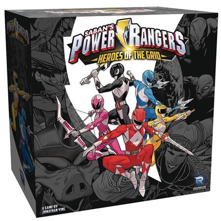 POWER RANGERS HEROES GRID BOARD GAME (C: 0-1-2)