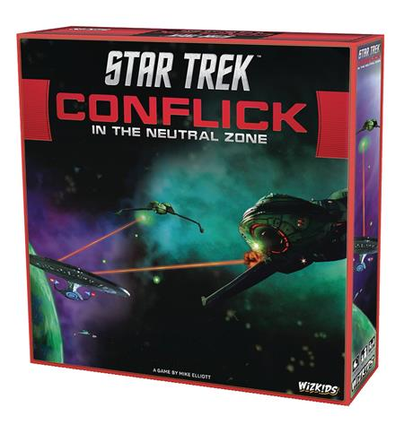 STAR TREK CONFLICK NEUTRAL ZONE BOARD GAME (C: 0-1-2)