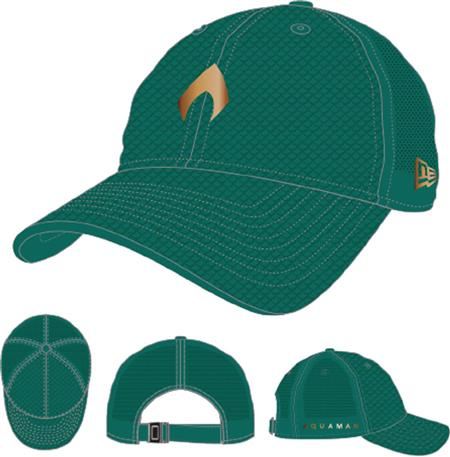 AQUAMAN MOVIE NORTHWEST GREEN 9TWENTY CAP (C: 1-1-2)