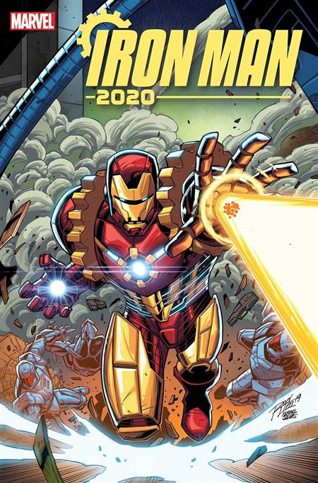 IRON MAN 2020 #1 (OF 6) RON LIM VAR