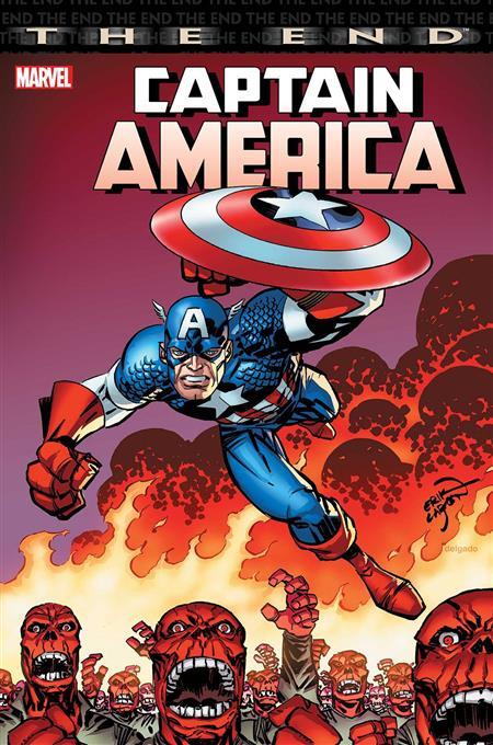 CAPTAIN AMERICA THE END #1 LARSEN VAR