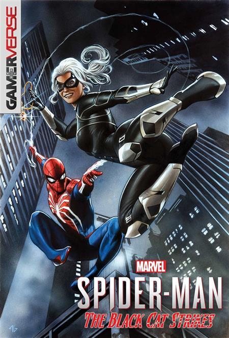 MARVELS SPIDER-MAN BLACK CAT STRIKES #1 (OF 5) GRANOV GAME V