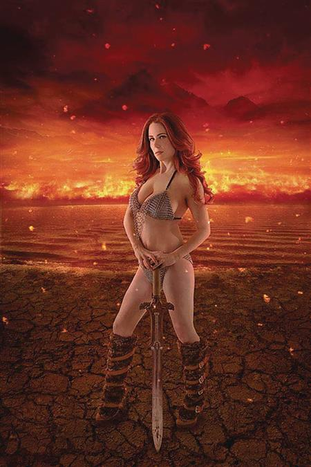 RED SONJA AGE OF CHAOS #1 30 COPY COSPLAY VIRGIN INCV