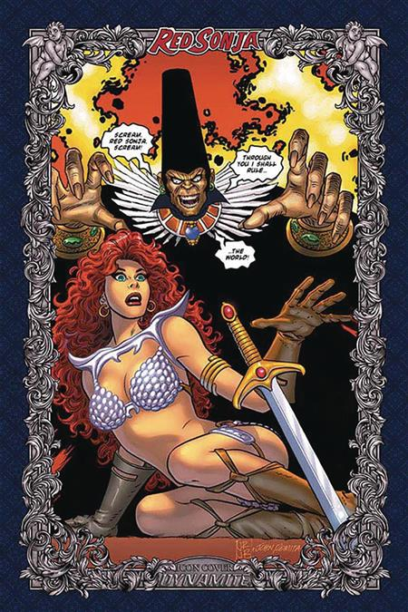 RED SONJA AGE OF CHAOS #1 60 COPY ROMITA ICON INCV