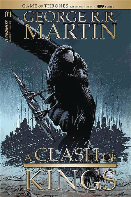 GEORGE RR MARTIN A CLASH OF KINGS #1 CVR D GUICE (MR)