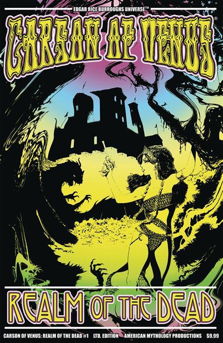 CARSON OF VENUS REALM OF DEAD #1 CVR C PULP LTD ED