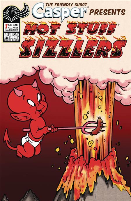 CAPSER SPOTLIGHT HOTSTUFF SIZZLERS #1 CVR A