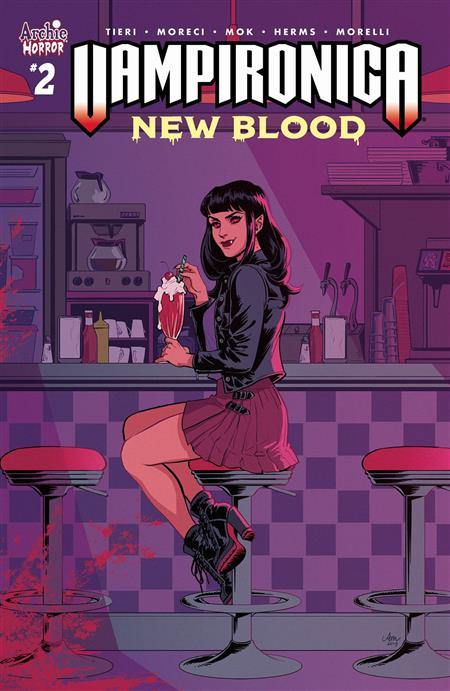 VAMPIRONICA NEW BLOOD #2 CVR A MOK