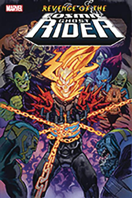 DF REVENGE OF COSMIC GHOST RIDER #1 SGN CATES