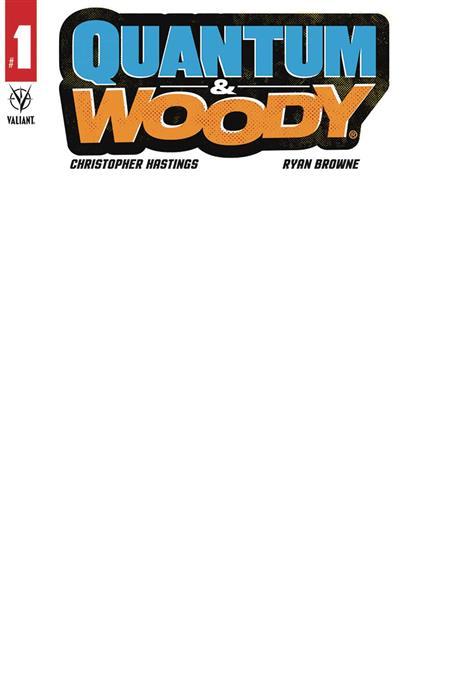 QUANTUM & WOODY (2020) #1 (OF 5) CVR D BLANK