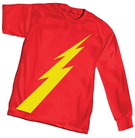 120619 AGE FLASH SYMBOL LONG SLEEVE T/S SM (C: 0-1-2)