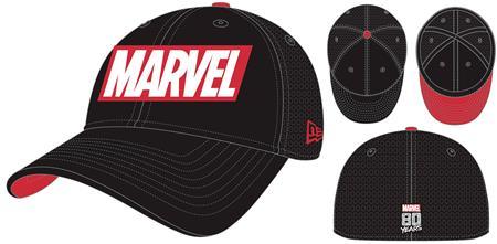 MARVEL COMICS LOGO PX NEO FLEXFIT CAP (C: 1-1-1)