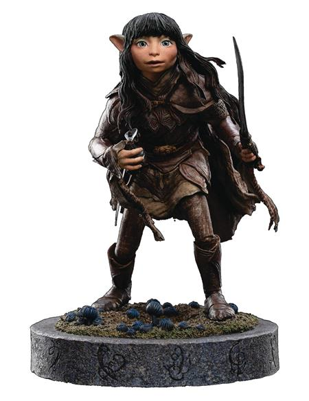 DARK CRYSTAL RIAN THE GELFLING 1/6 SCALE POLYSTONE STATUE (C