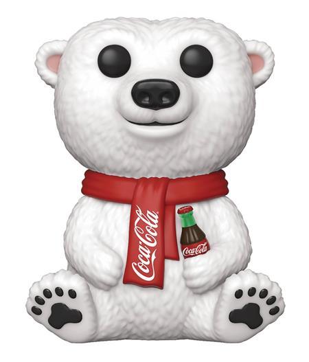 POP AD ICONS COCA-COLA POLAR BEAR VINYL FIGURE (C: 1-1-2)