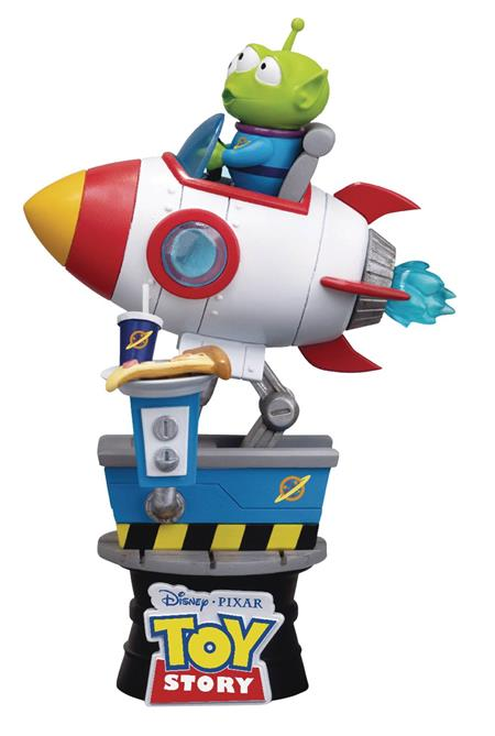 TOY STORY DS-036 ALIEN COIN RIDE D-STAGE SER PX 6IN STATUE (
