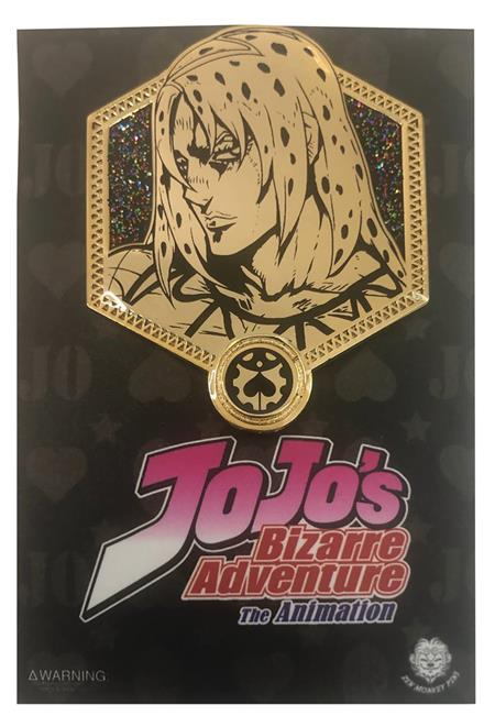 JOJOS BIZARRE ADVENTURE GOLD DIAVOLO PIN (C: 1-1-2)