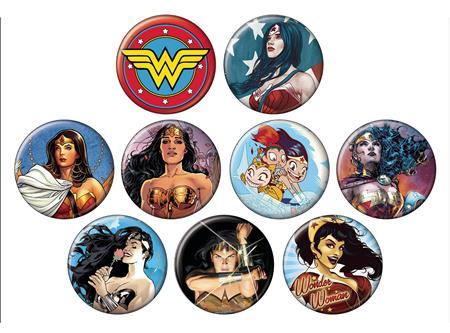 DC HEROES WONDER WOMAN 144PC BUTTON ASST DIS (C: 1-1-2)