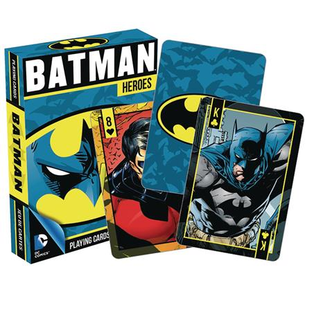 DC HEROES BATMAN PLAYING CARDS (C: 1-1-2)