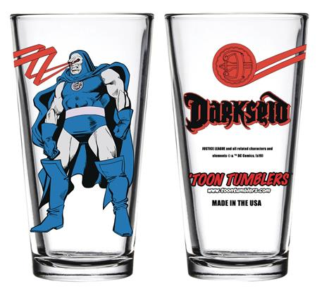 TOON TUMBLERS DC DARKSEID PINT GLASS (C: 1-1-1)