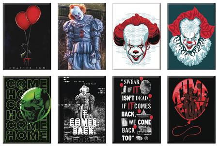 HORROR IT CHAPTER TWO 48PC MAGNET ASST (C: 1-1-2)