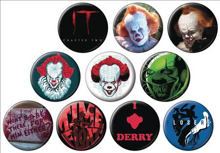 HORROR IT CHAPTER TWO 144PC BUTTON DIS (C: 1-1-2)