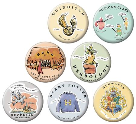 HARRY POTTER WHIMSY 144PC BUTTON DIS (C: 1-1-2)