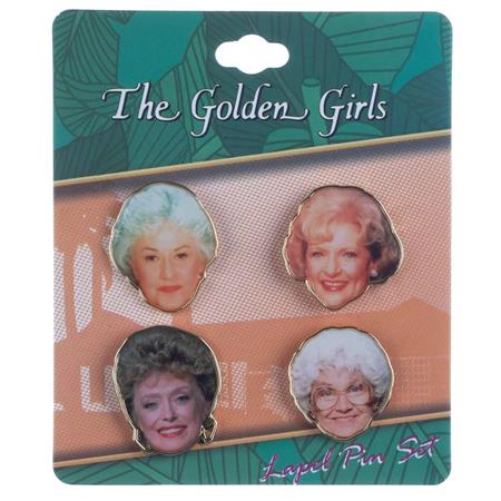 GOLDEN GIRLS 4PC LAPEL PIN SET (C: 1-0-2)