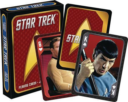 STAR TREK CAST PLAYING CARDS (C: 1-1-2)