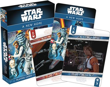STAR WARS EPISODE 4 PLAYING CARDS (C: 1-1-2)