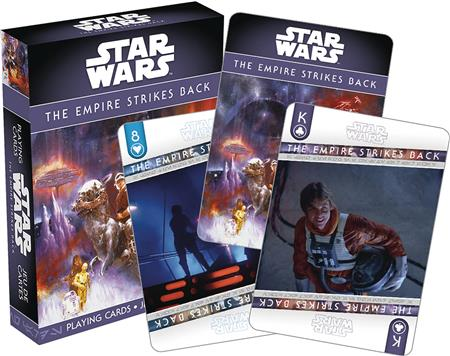 STAR WARS EPISODE 5 PLAYING CARDS (C: 1-1-2)