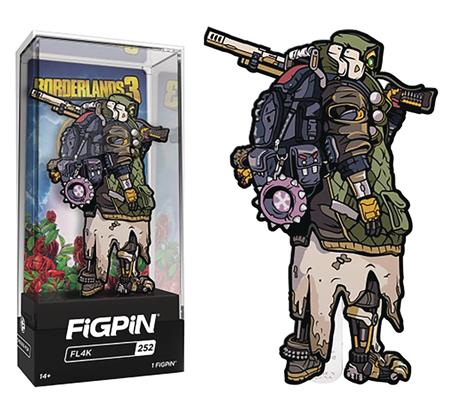 FIGPIN BORDERLANDS 3 FL4K PIN (C: 1-1-2)