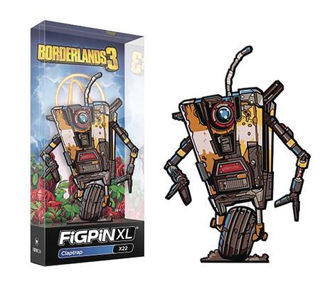 FIGPIN XL BORDERLANDS 3 CLAPTRAP PIN (C: 1-1-2)