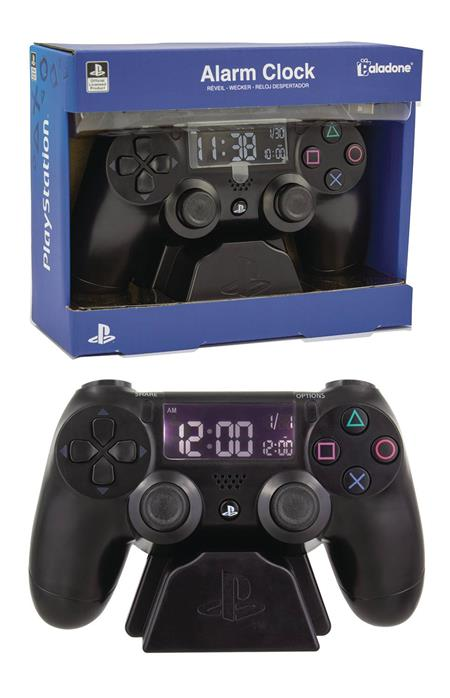PLAYSTATION CONTROLLER ALARM CLOCK (C: 1-1-2)